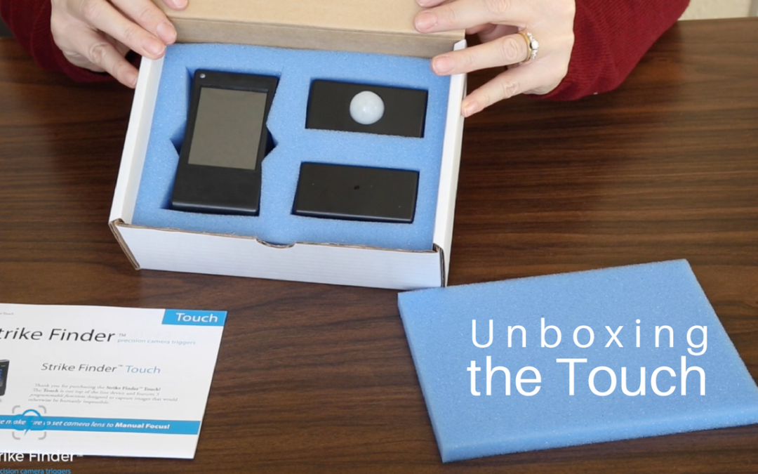 Unboxing the Strike Finder Touch